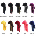 Various color bulk hair accessories bandana jersey turban