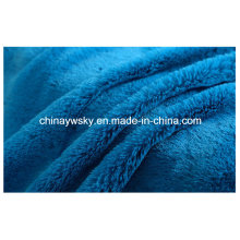 Tejidos de felpa de material / Tejido de peluche de punto / Telas de vellón PV