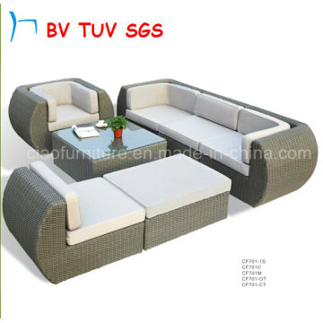 Corner Sofa Customized Made Outdoor Sofa for Sale (CF701)