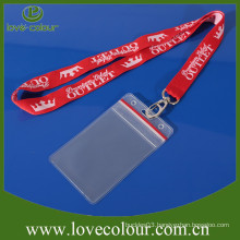 Professional cheap custom id card holders and lanyards