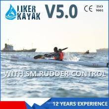 5.0m Suecia 1 persona sentada en el kayak profesional de pedales para viajar largamente