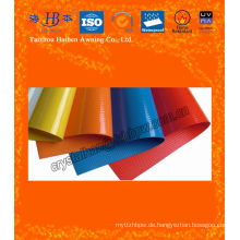 Wasserdichtes PVC-Gewebe, überzogenes PVC-Gewebe mit Qualität