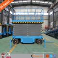 4 м Китай 2ton нагрузки CE мобильных буксируемых ножничный подъемник / ножничный подъемник для контейнера