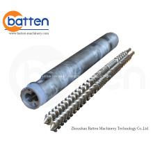 Tambor de parafuso duplo paralelo para máquinas de extrusão de plástico