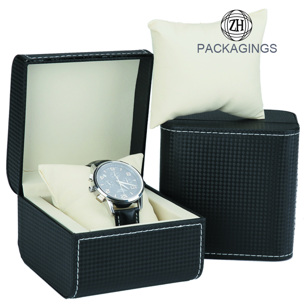 Composite Wood PU Watch Packaging Boxes