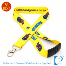 2015 OEM Custom Branded Full Color Sublimation Printed Lanyards at Factory Price