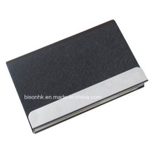 Latest Trade Show Promotios Large Capacity Leather Name Card Holder, Leather Business Card Holder (BS-L-022)
