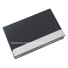 A última marca de comércio Promotios grande capacidade de couro titular do cartão de nome, couro titular do cartão de visita (BS-L-022)