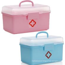 Estuche portátil de primeros auxilios con cerradura para niños