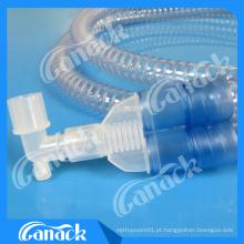 Circuito de respiração médico descartável do ventilador de Smoothbore EVA