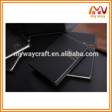 2016 High-end business notebook, pu leather notebook