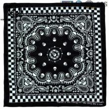 Bandera de moda 100% del sombrero del algodón Bandana de esqueleto de la bufanda de Paisley