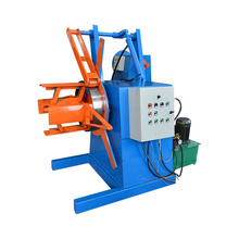 New design electric hot sell metal steel sheet hydraulic decoiler uncoiler
