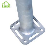 Quadratische Boden-Schrauben-Anker für Fertighaus
