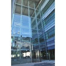 Steel Structure Point Fixing Glass Curtain Wall