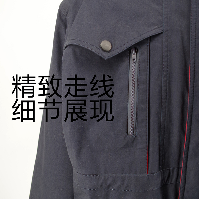 Warm Padded Thinking Winter Uniform