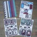 Ultimate A4 recolector de recorte del paquete de papel de bricolaje Scrapbook Kits