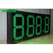 Signo de precio de gas LED al aire libre / Cambiador de precio de gas / Signo de LED digital