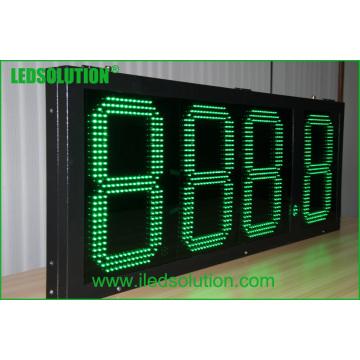 Gas-Preis-Zeichen im Freien LED / Gas-Preis-Wechsler / Zeichen Digital-LED