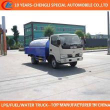 Hochdruck-Reinigungs-LKW des Abwasserkanal-Bagger-LKW-4cbm für Verkauf