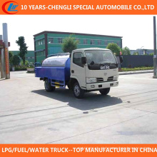 Caminhão de limpeza de alta pressão da limpeza do caminhão 4cbm do esgoto para a venda