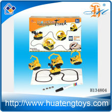 2014 Newest battery operation inductive car toy,inductive truck,BO car H134804
