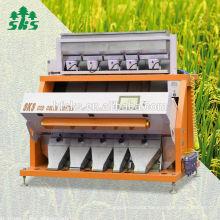 Venta caliente en el sureste de Asia ccd cámara arroz clasificador de color máquina