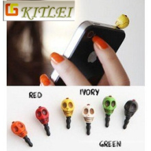 Dust Proof Cell Phone Dust Plug Charm for Smartphone