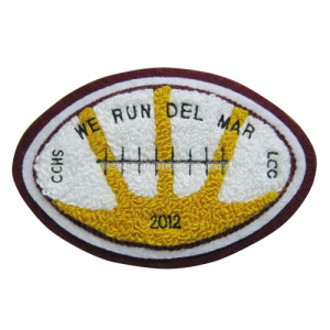 Rugby Design Alta Qualidade Felt Embroidery Patch Chenille