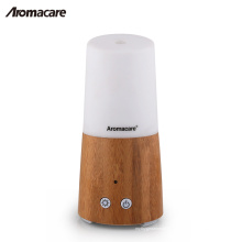 Aromacare Mini Tragbare Batteriebetriebene Holz Bambus Aroma Diffusor für Home Spa Home Dekoration