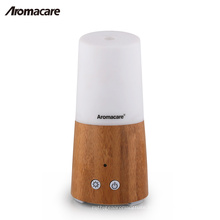Aromacare Mini Portable Battery Operated Wood Bamboo Aroma Diffuser for Home Room Spa Home Decoration