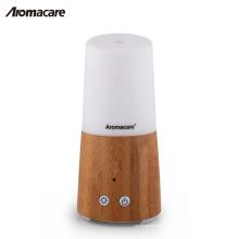 Красивая металлическая подставка натуральный Бамбук USB портативный мини увлажнитель воздуха диффузор аромат натурального дерева