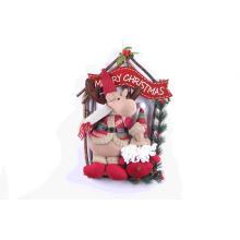 Кулон двери висит рождественские украшения