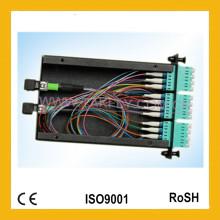 Alta qualidade e fibra óptica competitiva 24 núcleos MPO Cassete