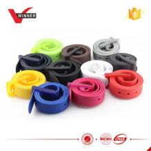 NEUE Gummi-Vinyl-Plastik-Silikon-beiläufige Gürtelschnalle Eine Größe passt alle