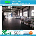 electrostatic Metallic brown powder coating