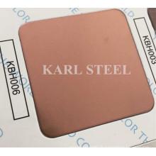 Edelstahl Farbe Haarlinie Kbh006 Blatt für Dekorationsmaterialien