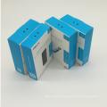 Logo design customized carton packaging wax coated box