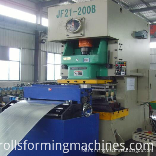 cable tray rolling machine