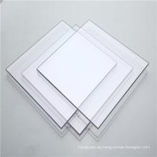 Hoja sólida de plástico para techos de tragaluz de pasillo de centro comercial