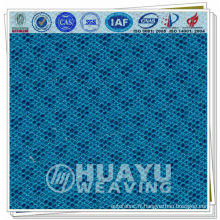 Tissu en polyester tricoté