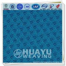Tecido de poliéster tricotado em urdidura