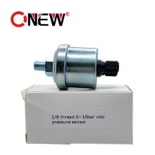 High Quality Diesel Generator Vdo Oil Pressure Sensor 0-10 Bar 1/8 NPT Engine Oil Pressure Sensor Pressione