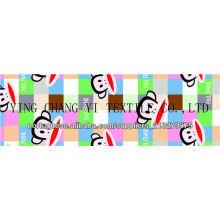 Shandong en gros tissu imprimé en polyester