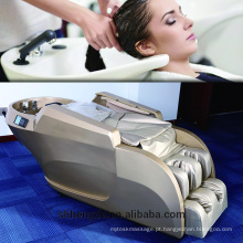 Cadeira de lavagem de alto grau cabelo lavagem massagem shampoo