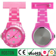 Trend Style Plastic Material Nurse Watch with Calendar