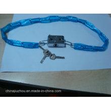 Cadeado de lâmina de ferro com corrente