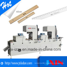 Automatic Plastic Ruler Tampo Pad Printing Machine for Stationery