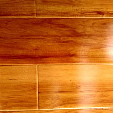 Plancher stratifié de plancher en stratifié de cristal de HDF