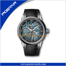 The Leather Watch Band Automatic Watch